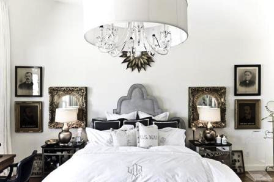 chandelier bedroom Bathrooms