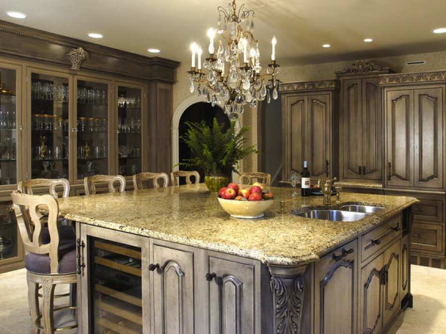 chandelier in kitchen Chandelier Ideas: Which Room?