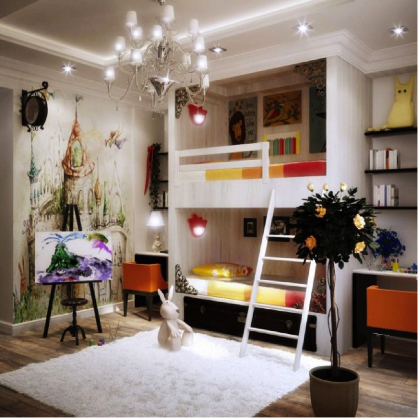 chandelier kids room Chandelier Ideas: Which Room?