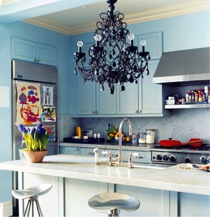 kitchen chandelier Chandelier Ideas: Which Room?