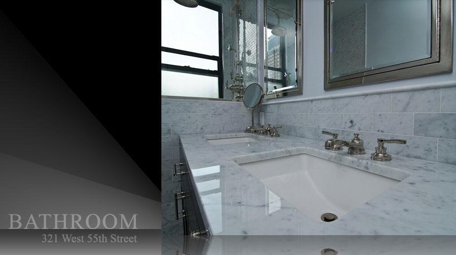 New York Artistic New York Bathroom Design